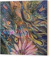 The Orange Wind Can Be Purchased Directly From Www.elenakotliarker.com Wood Print by Elena Kotliarker