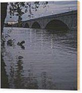 The Potomac Rivers Wood Print by Stephen St. John