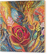The Rose Of East Wood Print by Elena Kotliarker