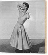 The Tender Trap, Debbie Reynolds, 1955 Wood Print by Everett