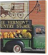 The Vermont Country Store Wood Print by John Greim