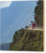 The World's Most Dangerous Road, Bolivia Wood Print by John Coletti