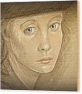 Through The Eyes Of Youth Wood Print by Linda Nielsen