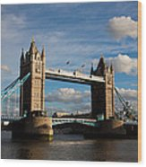 Tower Bridge Wood Print by Steven Gray