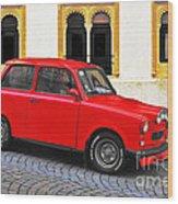 Trabant Ostalgie Wood Print by Christine Till