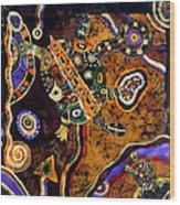 Turtles Wood Print by Sandra Kern