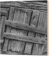 Unhinged Wood Print by Charles Warren