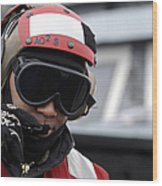 U.s. Navy Aviation Ordnanceman Reports Wood Print by Stocktrek Images