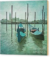 Venice Wood Print by Paul Grand
