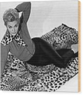 Vertigo, Kim Novak, 1958 Wood Print by Everett