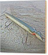 Vintage Fishing Lure - Floyd Roman Nike Lil Sandee Wood Print by Mother Nature