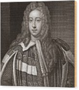 Viscount Bolingbroke, English Statesman Wood Print by Middle Temple Library