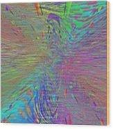 Warp Of The Rainbow Wood Print by Tim Allen