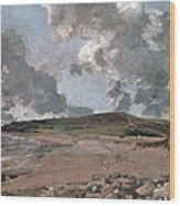Weymouth Bay With Jordan Hill Wood Print by John Constable