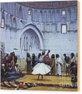 Whirling Dervishes Wood Print by Pg Reproductions
