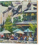 Whistler Two Wood Print by Dale Stillman