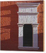 White Window Wood Print by RicardMN Photography