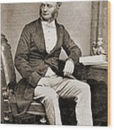 William Fothergill Cooke 1806-1879 Wood Print by Everett