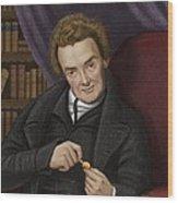 William Wilberforce, British Abolitionist Wood Print by Maria Platt-evans