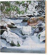 Winter Wood Print by Darren Fisher