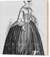 Womens Fashion, 1857 Wood Print by Granger