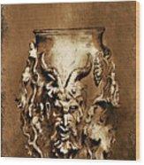 Dionysus.... Wood Print by Andrzej Szczerski