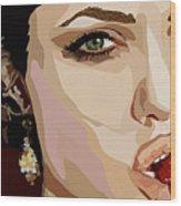 053. Never Send A Boy To Do A Woman's Job Wood Print by Tam Hazlewood