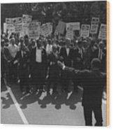 1963 March On Washington. Famous Civil Wood Print by Everett