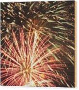 4th Of July Fireworks Wood Print by Joe Carini - Printscapes