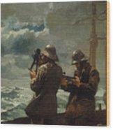 Eight Bells Print By Winslow Homer