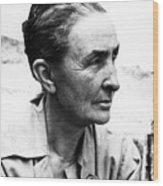 Georgia Okeeffe (1887-1986) Wood Print by Granger