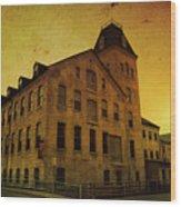 Historic Fox River Mills Wood Print by Joel Witmeyer