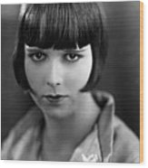 Louise Brooks, Late 1920s Wood Print by Everett