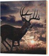 On The Run Wood Print by Bill Stephens