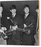 The Beatles Wood Print by Granger