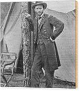 The Civil War. Ulysses S. Grant. 1864 Wood Print by Everett