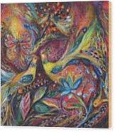 The Elegy Wood Print by Elena Kotliarker