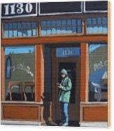 1130 High St. Wood Print by Linda Apple