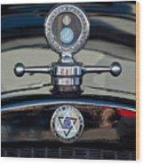 1928 Dodge Brothers Hood Ornament Wood Print by Jill Reger
