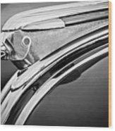 1948 Pontiac Chief Hood Ornament 2 Wood Print by Jill Reger