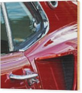 1969 Ford Mustang Mach 1 Side Scoop Wood Print by Jill Reger