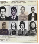 Rock And Roll S Most Wanted Poster By Lee Dos Santos