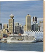 Vancouver Skyline Wood Print by John Greim
