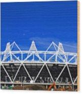 2012 Olympics London Wood Print by David French