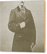 John Wilkes Booth, American Assassin Wood Print by Photo Researchers