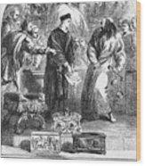 Merchant Of Venice Wood Print by Granger
