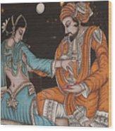 Rubaiyat Of Omar Khayyam Wood Print by Carl Purcell