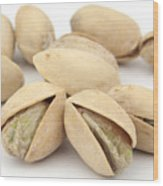 Pistachios Wood Print by Blink Images