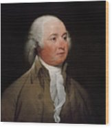 President John Adams Wood Print by War Is Hell Store