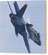 Us Navy Blue Angels Poster Wood Print by Dustin K Ryan